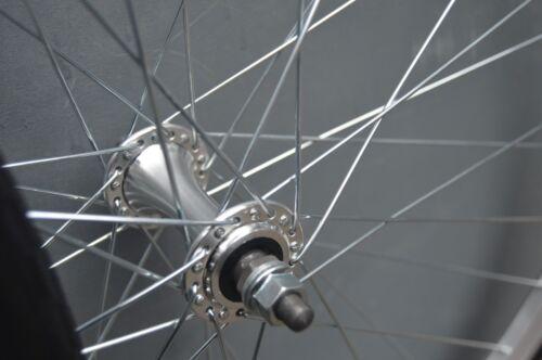 700c Alloy Vintage Wheelset Wheels Fixie Flip Flop SIngle speed Freewheel Fixed