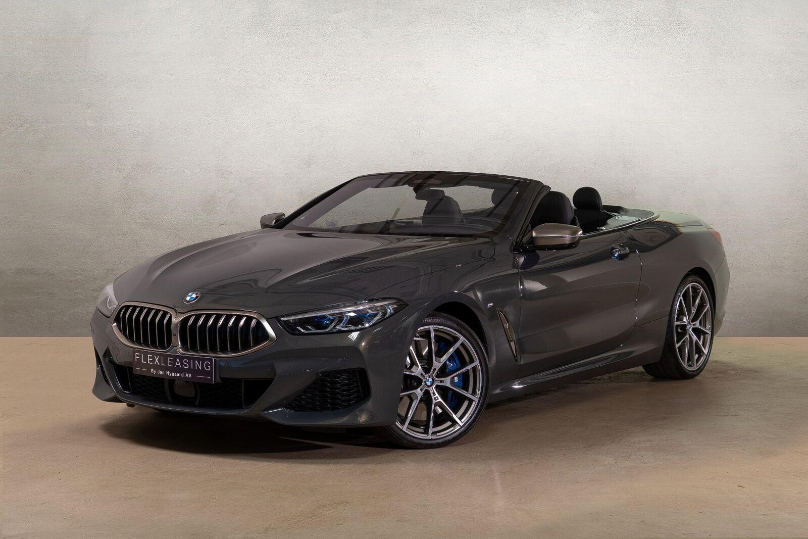 BMW M850i 4,4 Cabriolet xDrive aut. 2d