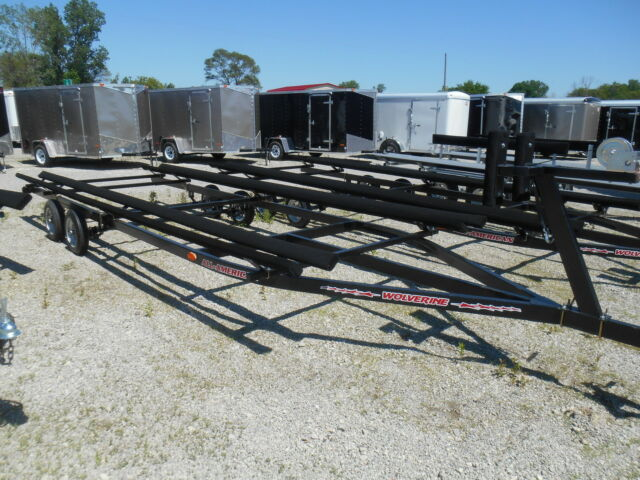 24' BUNK STYLE PONTOON TRAILER  ON SALE NOW *ALL PONTOON TRAILERS ON SALE NOW!