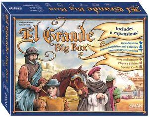 El Grande Big Box - Jeu de société Nouveau 681706715605