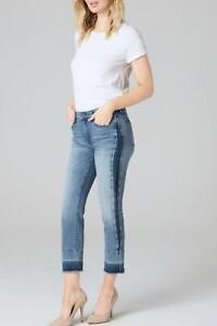 Coupe Femme 26 Bleu Parker Court Neuf Smith Sz Pour Jeans Droite 2 wYftY