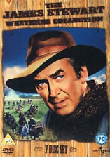 DVD:THE JAMES STEWART WESTERN COLLECTION - THE RARE BREED & - NEW Region 2 UK