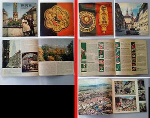 BERN-BERNE-SUISSE-x2-revues-touristiques-1950-039-s