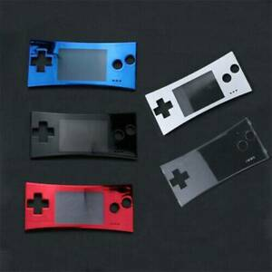 1x-Mutil-color-Front-Faceplate-Housing-Shell-For-Nintendo-Gameboy-Micro-Console