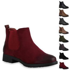promo code c9162 d45f2 Details zu 893783 Schuhe Damen Chelsea Boots Profil Sohle Stiefeletten New  Look