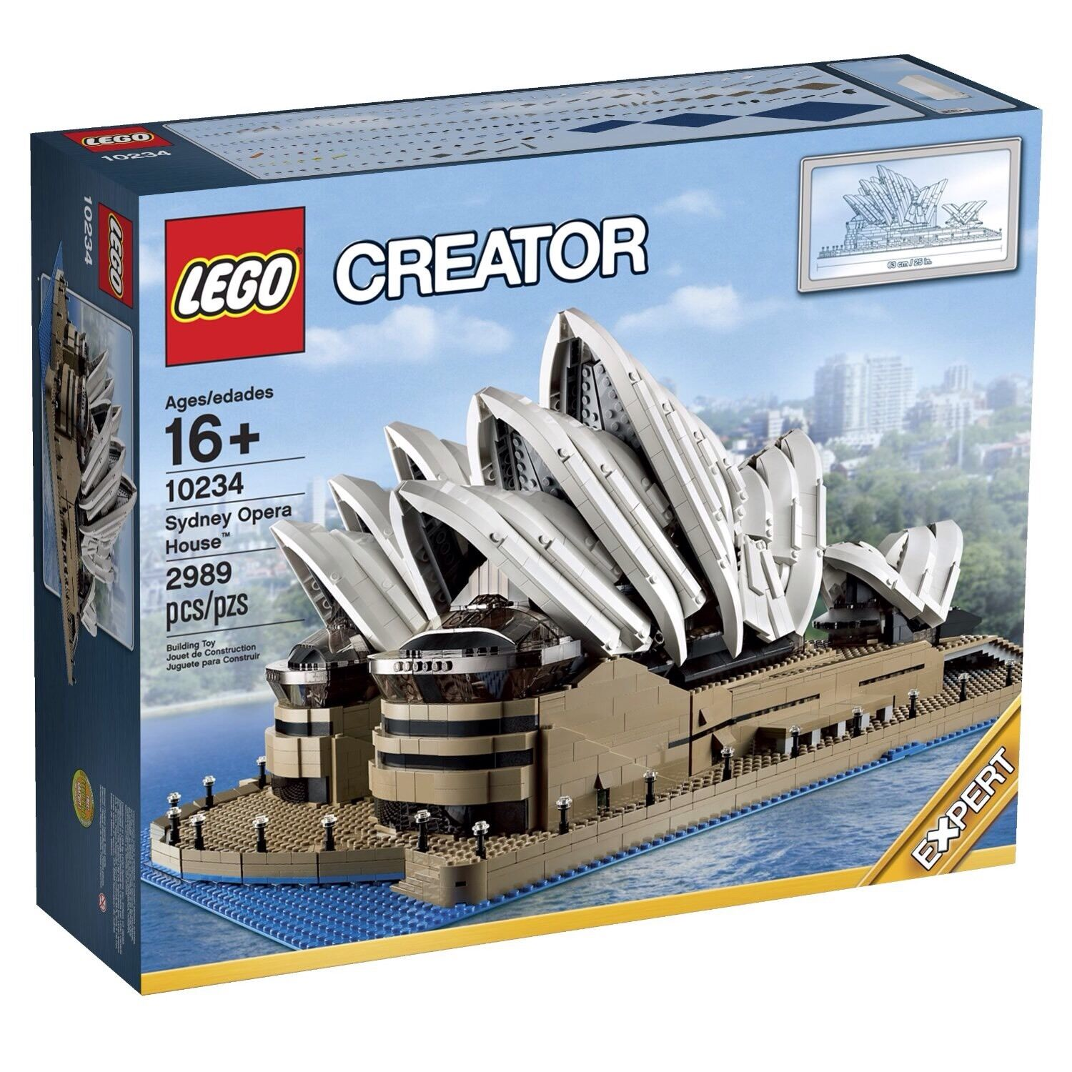 LEGO Sydney Opera House - CREATOR - 10234 - NEW & SEALED - 2989 Pieces Retired