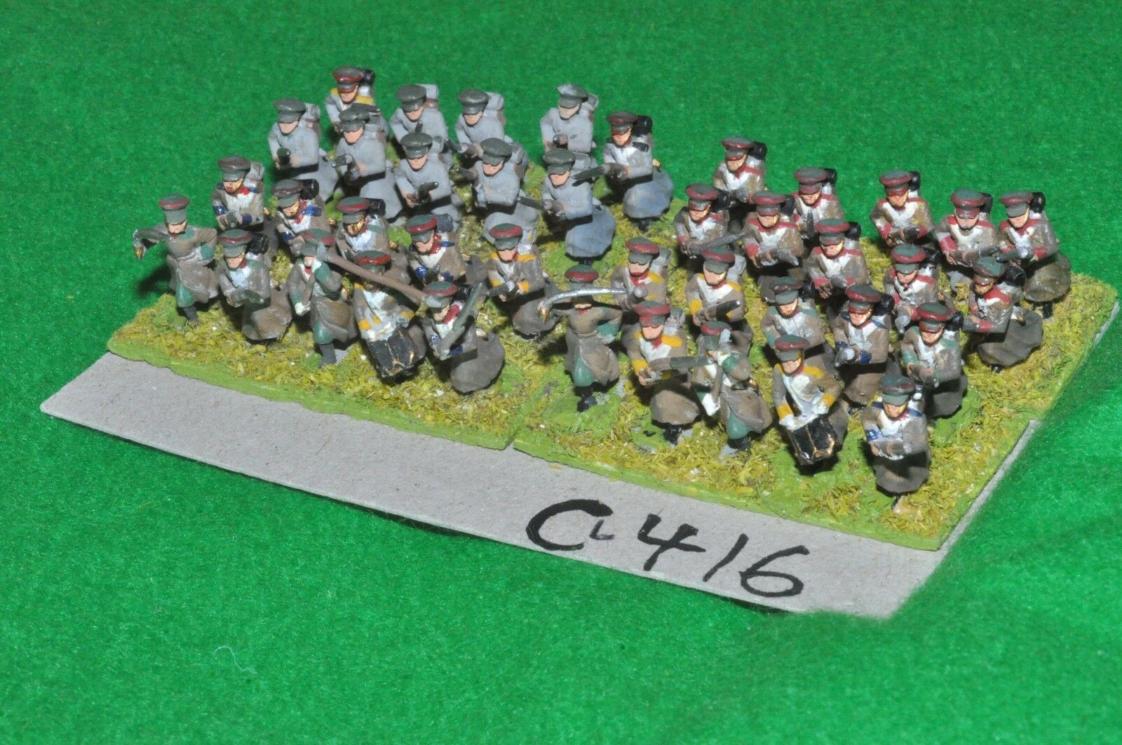 15mm 19th century   crimean - Russian 40 Infantry - inf (CL416)