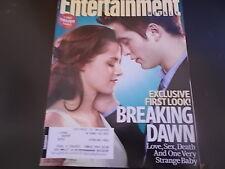 Twilight: Breaking Dawn, Robert Pattinson - Entertainment Weekly Magazine 2011