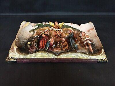 La Lluna La lluna0803001/Weihnachtskrippe aus Holz zu malen