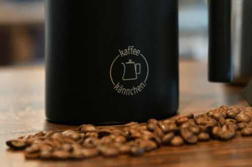 Pressfilterkanne French Press Kaffeekännchen 0,8 l Kaffeebereiter Edelstahl