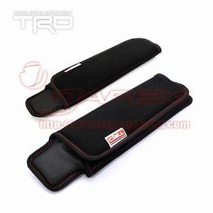 TRD-Seat-Belt-Shoulder-Pad-Set-Red-Stitch-TOYOTA-86-ZN6-All-models-MS010-00013