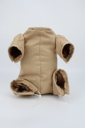 "Reborn Baby Dolls Doe Suede Bodies For 22/"" Newborn Doll Kits With 3//4 Limbs"