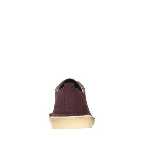 Clarks Originals Originals Originals Desert London Men's Burgundy Suede Casual scarpe 26128511 e4f28a
