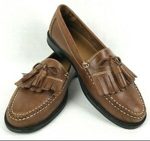outlet online buy online size 40 Details about Cole Haan Brown Dwight Kiltie Tassel Loafer C01063 Size 8.5 M  *Free Shipping