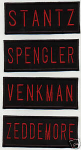 Ghostbusters-2-Style-Name-Tag-Patch-Set-Venkman-Stantz-Spengler-Zeddemore