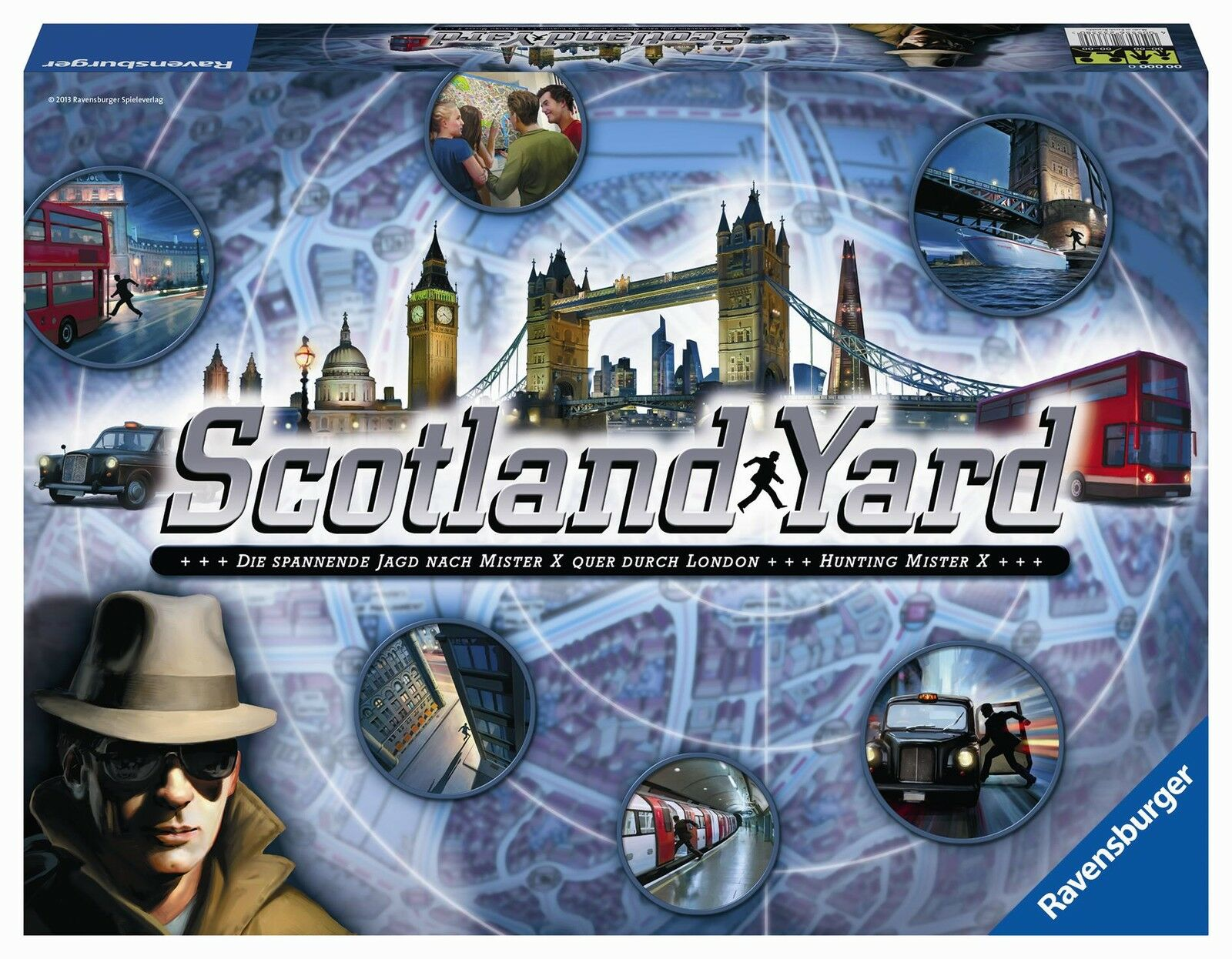 Ravensburger 26601 - Scotland Yard, Nuovo   Conf. Orig.