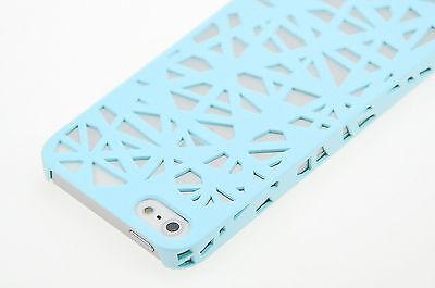 For Apple iPhone 6S/6 5S 5 4S Case Birds Nest Design Slim Thin Hard Cover +Film
