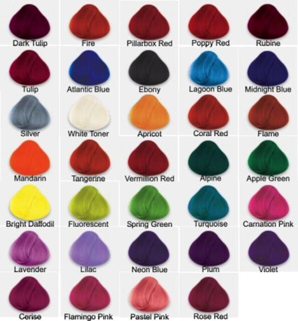 La Riche Directions Poppy Red Semi Permanent Hair Colour 88ml Ebay