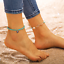 Girls Natural Cowrie Beads Shell Anklet Bracelet Handmade Beach Foot Jewelry