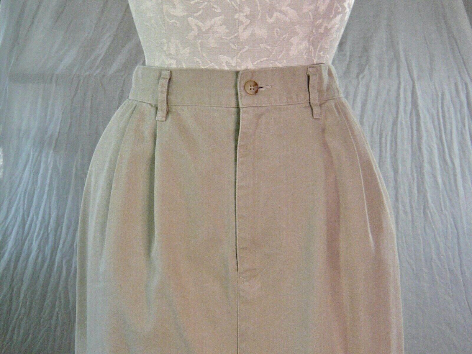 RALPH LAUREN vintage 70s 80s cotton khaki TROUSER… - image 2