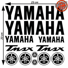Kit Foglio 12 Adesivi Yamaha Tmax T max 500 530 Scooter Vinile Stickers 23x23cm
