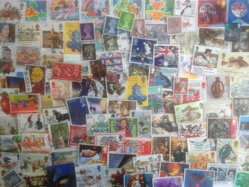 1500 Different Great Britain Stamp Collection