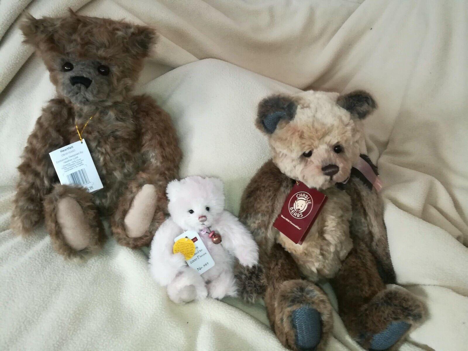Qvc Qvc Qvc Charlie Bears Sammlerbären Agnes Heartfelt Flossy