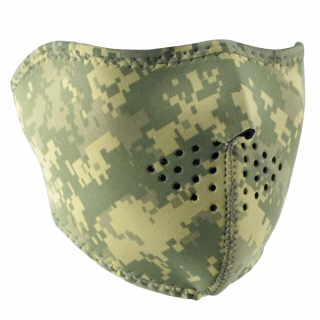 Us Army Digital Acu Face Mask Neoprene Camo Airborne Ranger Motorcycle 700h For Sale Online Ebay