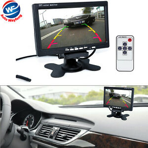 7-034-TFT-LCD-Color-HD-Mirror-Monitor-for-Car-Reverse-Rear-View-Backup-Camera-DVD