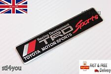 TRD Motorsport T Sport Badge Emblem Aluminum Sticker for Toyota MR2 Celica Yaris