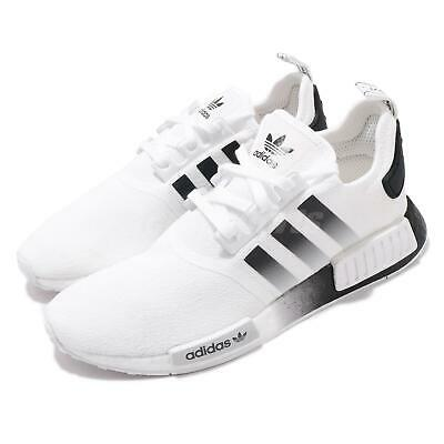 Adidas NMD/_R1 Men/'s White//Gum Trainers Size UK 8 D96635