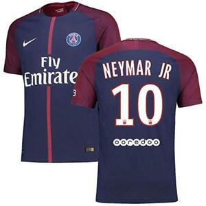 NIKE Mens 2017-18 Paris Saint-Germain Neymar JR Match Home Jersey ... ab6d99038