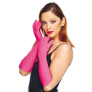 Gants-mi-longs-40cm-roses-niveau-coude-opera-burlesque-polyester-sexy-pinup