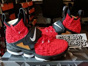 540157d406 Nike LeBron XV 15 Prime Diamond Turf PE University Red White Black ...