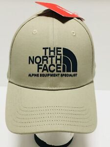 THE-NORTH-FACE-Classic-Sport-Baseball-Hat-Adjustable-Size-Ball-Cap-Beige-NWT