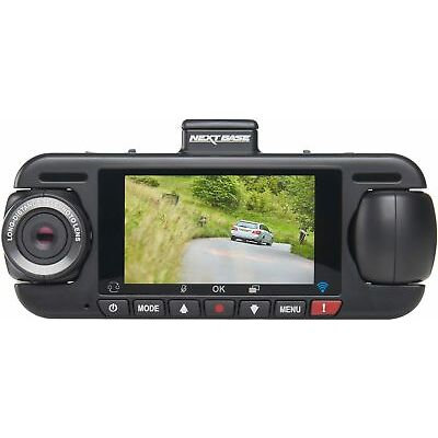 "Nextbase DUO HD Dash Cam WiFi Full HD 1080p 140 Degrees Wide Angle 3"" Display"