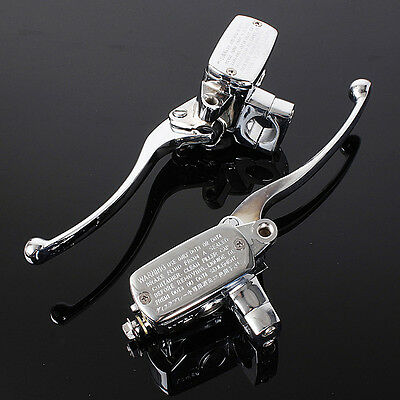 """1"""" 25MM Universal Motorcycle Brake Master Cylinder Hydraulic Clutch Lever US"""