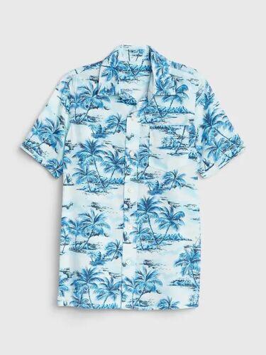 NWT GAP KIDS BOYS BUTTON DOWN SHIRT top tropical hawaiian hawaii    u pick size