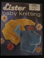 Vintage Lister Knitting Pattern: Boys/Girls Jumpers, DK, 19-21""