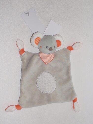 Baby Club C/&A BÄR KOALA Koalabär grau Schmusetuch Schnuffeltuch Kuscheltuch NEU