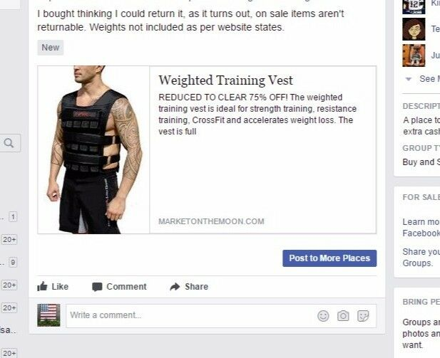 Unweighted vest , new, CrossFit style