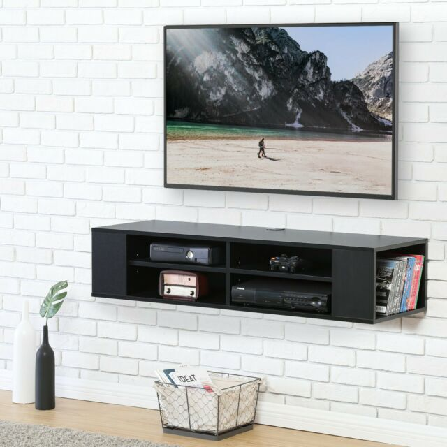 Wall Mount Media Console Floating Tv