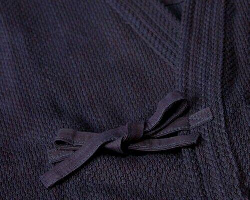 Japan Fencing Kendo Cotton Indigo Uniform Kendogi Clothes Robe Samurai Garment