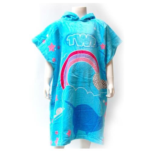 Twf Kinder Handtuch Bademantel Poncho Wassersport Taucheranzug Surfen Strand