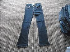 """Roxy Denim Flare Fit Jeans Ladies Waist 28"""" L31"""" Faded Dark Blue Ladies Jeans"""