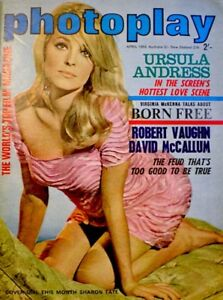 Sharon-Tate-Magazine-1966-Photoplay-Australia-Includes-Centerfold-EX-NM-COA-RARE