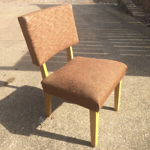 Incredible Vintage 1950S Mid Century Danish Wood Chair Accent Retro Pabps2019 Chair Design Images Pabps2019Com