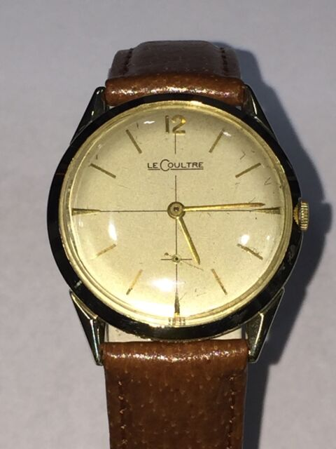 f5a74ae87853 Vintage LeCoultre 14K Solid Yellow Gold 17 Jewels Manual Wind Cal. 417 3CW  Watch