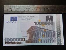 NEW €1 Million Banknote Bill E1,000,000 EURO Novelty Millionaire Christmas Gift