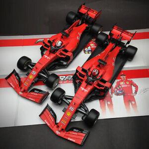 New-1-18-Bburago-Ferrari-F1-2019-Formula-One-SF90-car-model-S-Vettel-C-Leclerc